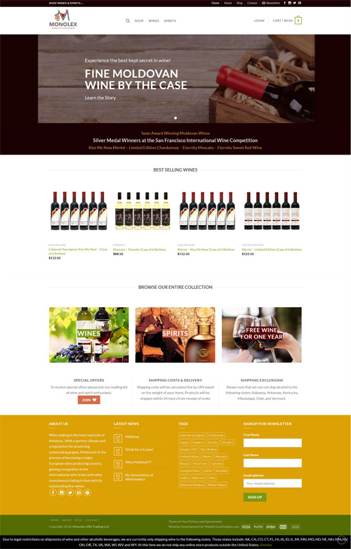 web design for monolextrading